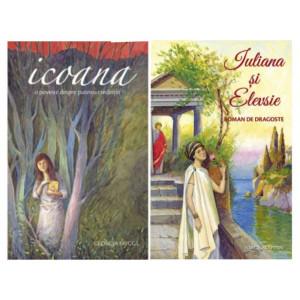 Pachet: Icoana. O poveste despre puterea credintei + Iuliana și Elevsie. Roman de dragoste