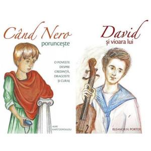Pachet: Cand Nero porunceste + David si vioara lui