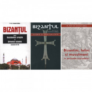 Pachet promotional: Bizantul, istorie si spiritualitate