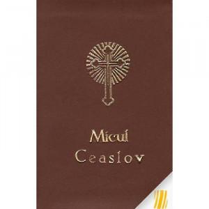 Micul Ceaslov (legat in piele, cu fermoar)
