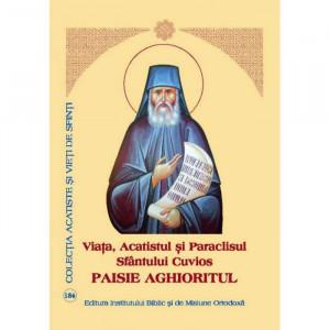 Viata, Acatistul si Paraclisul Sfantului Cuvios Paisie Aghioritul