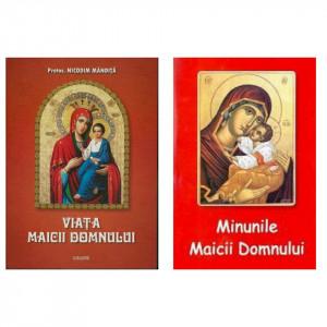 Pachet promotional 2 carti - Viata Maicii Domnului si Minunile Maicii Domnului