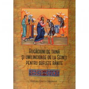 Rugaciuni de taina si umilincioase de la Sfinti pentru suflete ranite