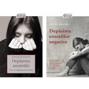 Pachet: Depasirea emotiilor negative + Depasirea anxietatii