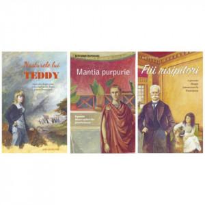 Pachet: Mantia purpurie. O poveste despre creștinii din primele veacuri + Fiii risipitori + Nasturele lui Teddy