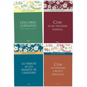 Pachet promotional cu 4 carti din seria Psihologie practica - Problemele familiei