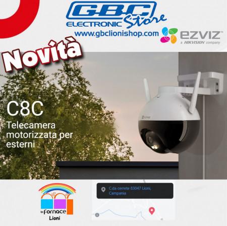 C8C Telecamera motorizzata per esterni
