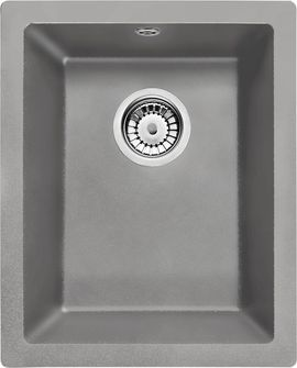 Chiuveta Granit CORDA UNDERMOUNT GREY GRANITE SINK WITH FITTING
