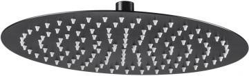 Dispersor fix - rotund negru anticalcar 30 cm diametru