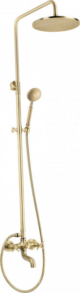 Temisto set de dus cu pipa pentru cada finisaj bronz / antichizat