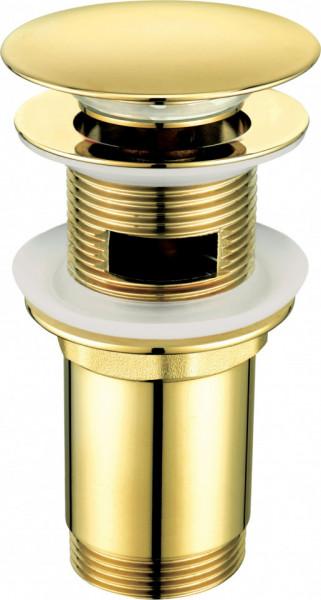 Sifon Gold Click-Clack finisaj auriu forma rotunda NHC_Z10U