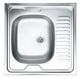 TANGO SATIN SINK 1-BOWL WITH DRAINER