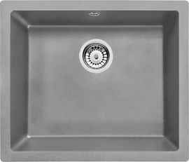 Chiuveta Granit CORDA UNDERMOUNT GREY - SINK WITH FITTING
