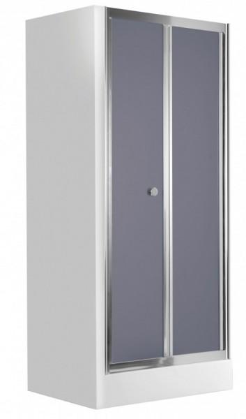 Flex usa pliabila sticla securizata cu tenta fumurie 80 cm