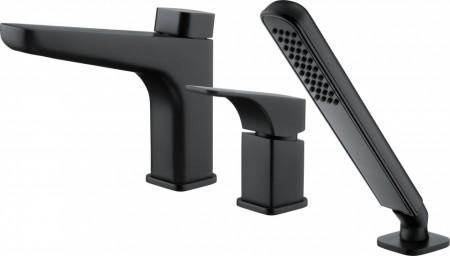 Hiacynt baterie de cada black - nero - negru cu montaj pe cada cu 3 orificii