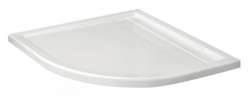 Minimal cadita forma semirotunda cu rigola 90*90