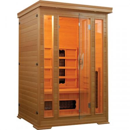 Sauna cu infrarosu pentru 2 persoane