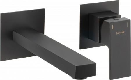 Anemon Black baterie de lavoar montaj incastrat finisaj negru