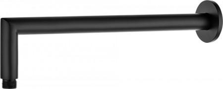Brat pentru dispersorul fix, finisaj negru, lungime 325mm, forma rotunda