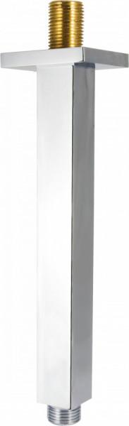 Brat prindere tavan pentru dispersorul fix finisaj crom 250 mm forma patrata