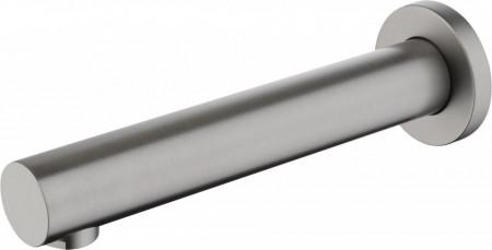Cascada pipa cada - lavoar finisaj titanium - 18,4 cm