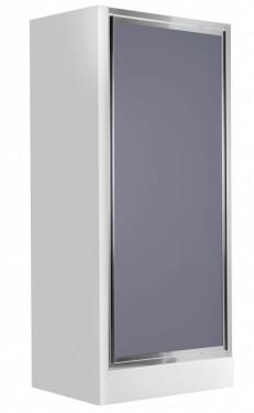 Flex usa pivotanta sticla fumurie 80 cm