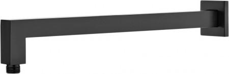 Brat pentru dispersorul fix, finisaj negru, lungime 375mm, forma patrata