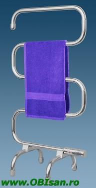 Uscator electric pentru prosoape 95x50x31cm 70 Watt, cu picioare sau montaj pe perete