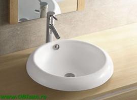 Lavoar ceramic 51x17x51 cm