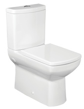 VAS WC Monobloc cu rezervor,scurgere universala,capac, mecanism dubla golire
