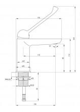 Alpinia - Vital baterie lavoar clinica