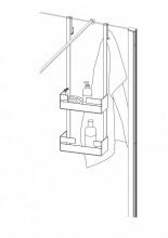 Etajera pentru cabină tip C seria Mokko