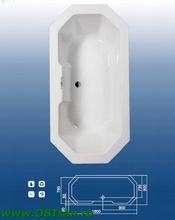 Nikos 180 Kit montaj (Set picioare + Sistem de scurgere cu preaplin automat PVC + sistem de prindere la perete)