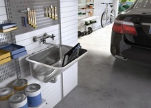 LAUNDRY SINK WITH SIPHON SET