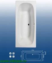Marbella 170 Kit montaj (Set picioare + Sistem de scurgere cu preaplin automat PVC + sistem de prindere la perete)