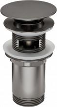 Sifon Click-Clack finisaj titanium cu transfer forma rotunda