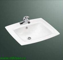 Lavoar ceramic incastrat        57x20x47 cm