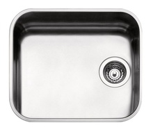 ARABESKA SINK UNDERMOUNTED BOWL 45X40 WITH FITTINGS, SATIN