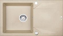 "EVORA Chiuveta Granit GRANITE SINK SANDY 590X440x180, 3,5"""