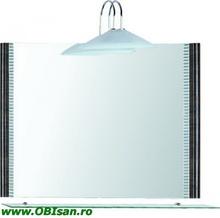 Oglinda cu iluminare 80x60 cm