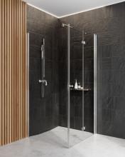 Paravan de duș walk-in, finisaj crom din seria Kerria 100 cm KTS 030P