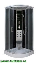 RELAX Cabina de dus cu aburi Quick-Line Sistem de montaj rapid