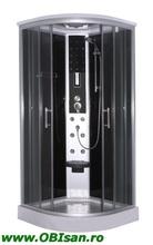 SCALA Cabina cu sistem de hidromasaj cu montaj rapid QuickLine