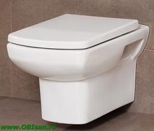 Vas WC suspendat, alb inclusiv Capac WC