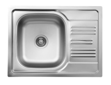 XYLO SATIN SINK 1-BOWL WITH SHORT DRAINER WITH FITTING