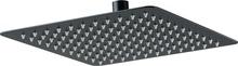 Dispersor fix - patrat negru anticalcar 30*30 cm