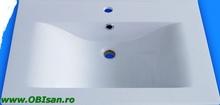 Lavoar 70 cm  din marmura artificiala 70,5x51,5x17,5 cm