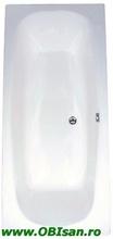 Marbella 180 Kit montaj (Set picioare + Sistem de scurgere cu preaplin automat PVC + sistem de prindere la perete)