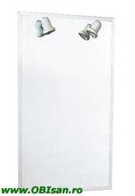 Oglinda ALOE 80 cu iluminare normala, 80x90cm