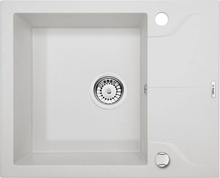 ANDANTE ALABASTER GRANITE SINK ONE BOWL WITH DRAINER WITH FITTING